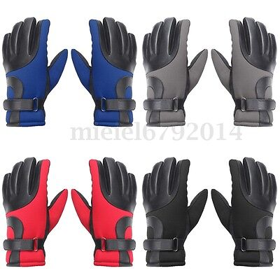 Winter Waterproof Ski Snowboard Snow Thermal Warm Gloves Bike Bicycle Cycling