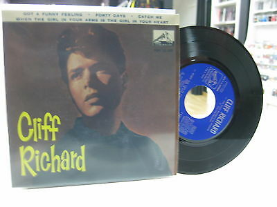 "Cliff Richard And The Shadows 7"" Ep Spanish Got A Funny Feeling + 3. 1962"