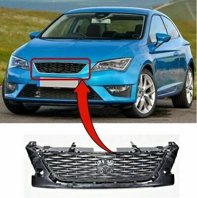 Seat Leon 2013- Front Grille Main Centre (Standard Models) Insurance Approved