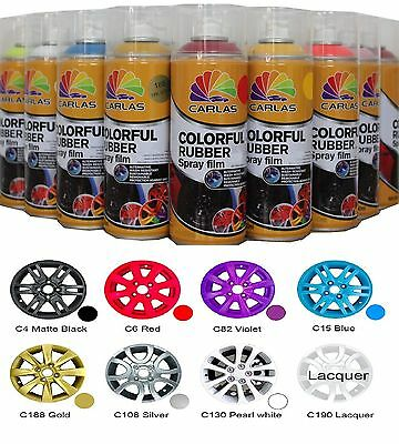 Carlas Plastic Rubber Spray Can Film Aerosol Paint Peelable Waterproof
