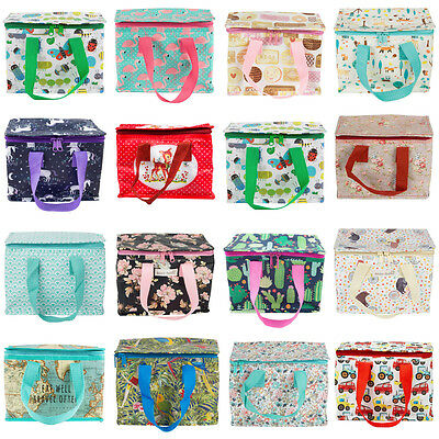 SchooI Office Lunch Bags Lunchbox Kids Childrens Adult Insulated Cool Tote Bag