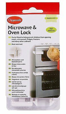Clippasafe Microwave and Oven Lock For Child/Baby/Kids Safety CL740