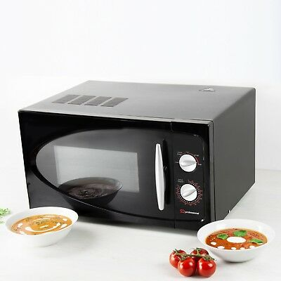 SQ Professional 30L 700W Microwave, Black-New with 1 year guarantee