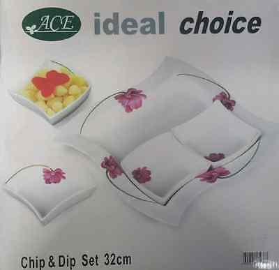 Chip & Dip Set (32cm), Brand new in original packaging