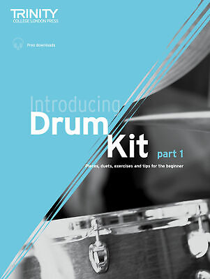 Trinity College Introducing Drum Kit with CD Same Day P+P