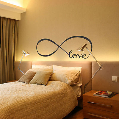 Cool Love Removable Wall Stickers Art Vinyl Quote Decal Mural Home Bedroom PP