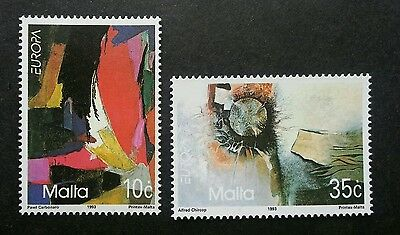 Malta Europa CEPT Contemporary Art Painting 1993 (stamp) MNH