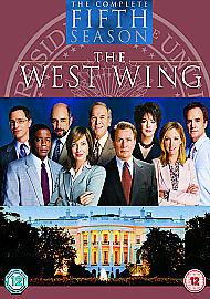 The West Wing - Series 5 (DVD, 2005, 6-Disc Set, Box Set)