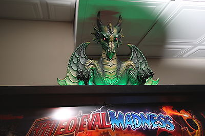 Williams Medieval Madness Dragon Topper stunning with red led eyes & light strip