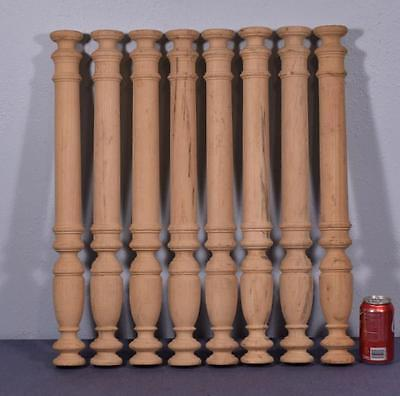 """*25"""" Vintage Wood Baluster Posts, Pillars or Columns (8 AVAILABLE)"""