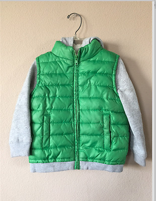 Crazy 8 Boys Jacket Hoodie Sweater Coat Size 3T