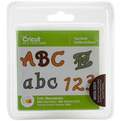 Provo Craft 2003591 Cricut Font Cartridge-Candy