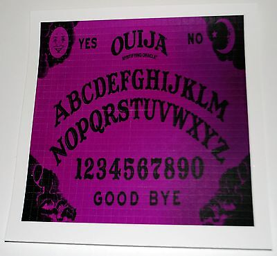 Purple  Ouija Board Blotter Art perforated magical psychedelic 900 hit magic