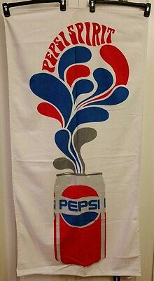 Pepsi Spirit Can Beach Towel New (56x28)