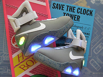 Back to the Future - KIDS Light Up Mag Upgrade Swoosh & Letters (Sizes 11 to 4)