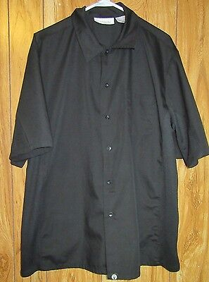 Chef Works Own The Kitchen Shirt Size Large Black (J5-9)