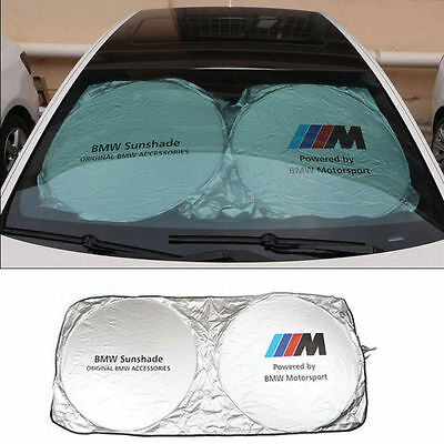 Sun Shade Windshield Foldable Cover Visor Heat Isolate BMW M Motorsport Front