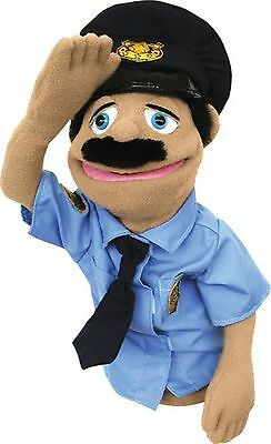 Melissa & Doug Police Officer Hand Puppet New Free Shipping