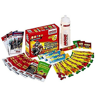 High 5 Race Pack EnergyGel IsoGel 4 Hour Endurance Event Step By Step Nutrition