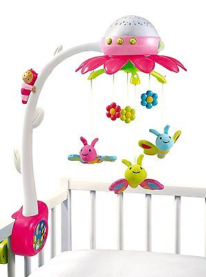 Smoby Cotoons Mobile Musical Fleur Rose