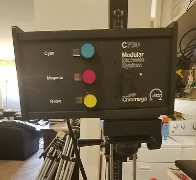 Berkey Omega C760 Color Dichroic Professional Enlarger  *Super Chromega*