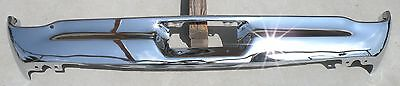 Ford Galaxie 500 Xl New Triple Plated Chrome Rear Back Bumper 1968 68 Oem