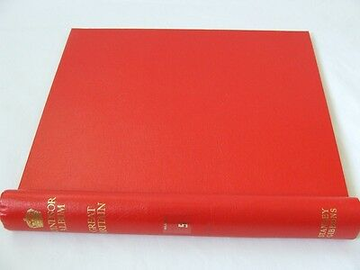 Stanley Gibbons Great Britain Red Windsor Springback Album, Vg/Exc Condition