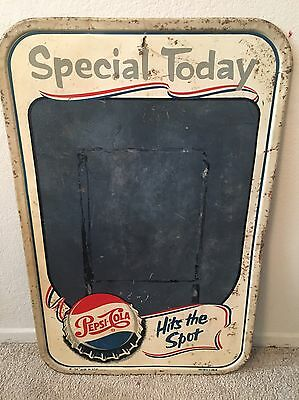 1940's Pepsi-Cola Chalk Board - Sale Price Ends Friday 6am