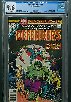 Defenders Annual 1 CGC 9.6 King-Size 1976 Doctor Strange Valkyrie The Dr. 1st