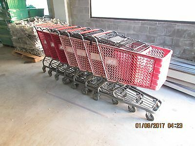 Shopping Carts Full Size Cart 21X33X19 Dp (Lightly Used Good Condition) 7Pc Lot