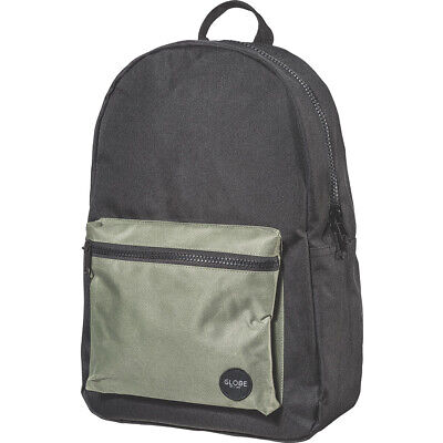 Globe Dux Deluxe Backpack – (Black/Army)