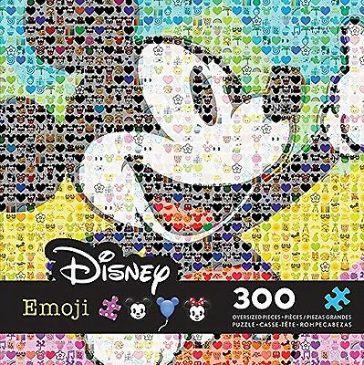 Ceaco Disney Emoji Mickey Mouse Puzzle (300 Piece) New Free Shipping