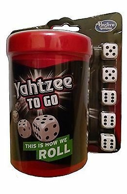 Yahtzee to Go Travel Game by Hasbro New Free Shipping