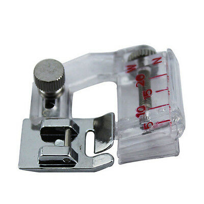 New Adjustable Bias Binder Edge Presser Foot For Low Shank Sewing Machines