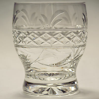 Stuart Crystal Imperial 10 oz Whisky Tumbler Glass Signed Firsts More available