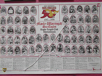 Rugby League Print - Manly-Warringah 1947-1996