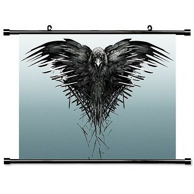 Game of Thrones Wallscroll Stoffposter Tapete Geschenk Heimdecor 60x40CM FWS001