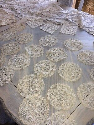 26 Vintage Lace Doilies/Coasters and Lace Runners Beautiful