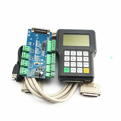 3 Axis Engraving Machine CNC Controller Control Card DSP Handle Remote Control