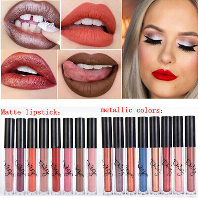 Lipstick Tint for Lips Cosmetics No Fade Lip Gloss Matte