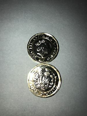 2016 Dated RARE Royal Mint New 12 Sided Pound BU £1 One Pound Coin Uncirculated