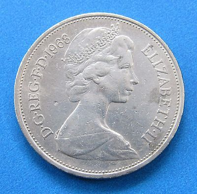 Great Britain 10 New Pence, 1968