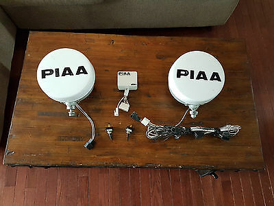 PIAA 80's Series Racing Light Assemblies. Lights x2, Harness & Controller