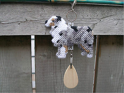 AUSTRALIAN SHEPHERD #2 Dog crate tag or hang anywhere pet art home decoration