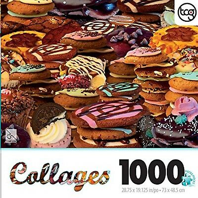 Alix Mullins Cookies Collage 1000 Piece Jigsaw Puzzle New Free Shipping