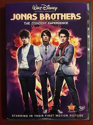 Jonas Brothers - The Concert Experience (DVD, Disney) - E1111
