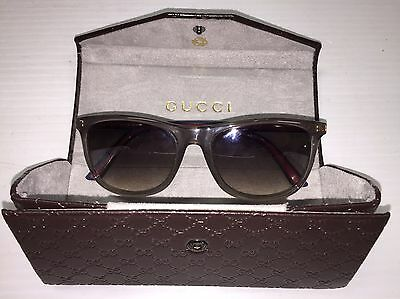 Gucci GG 1055/S 0VSIC Sunglasses Great Condition **Made In Italy **