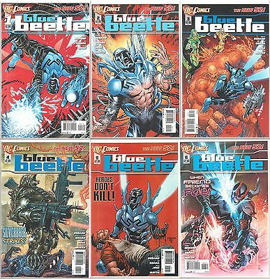 DC Comics The New 52 BLUE BEETLE #1, 2, 3, 4, 5, 6