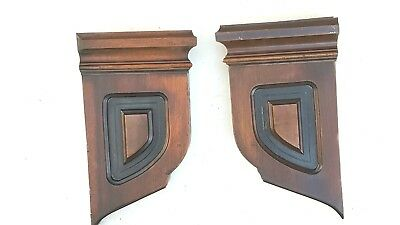 Vintage Corbels Entryway Mantle Mantel Shelves Brackets Architectural Accents