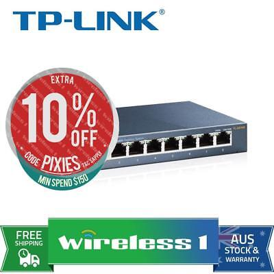 TP-Link TL-SG108 8 Port Unmanaged Switch